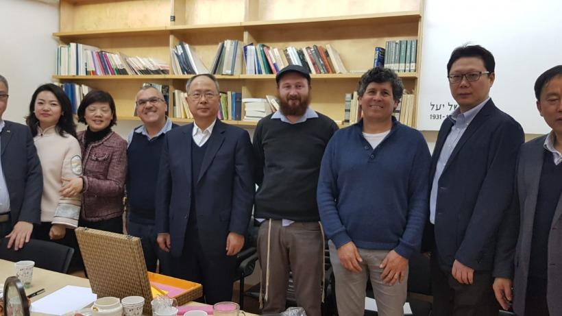 ביקור משלחת משרד המשפטים של שנגחאי